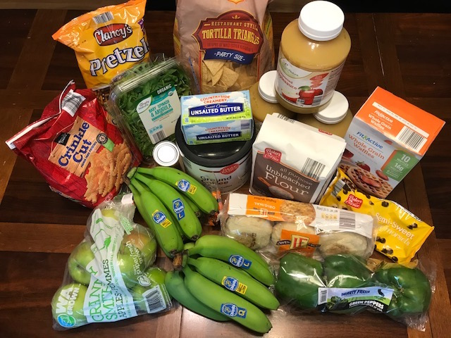 Grocery Shopping Totals for May