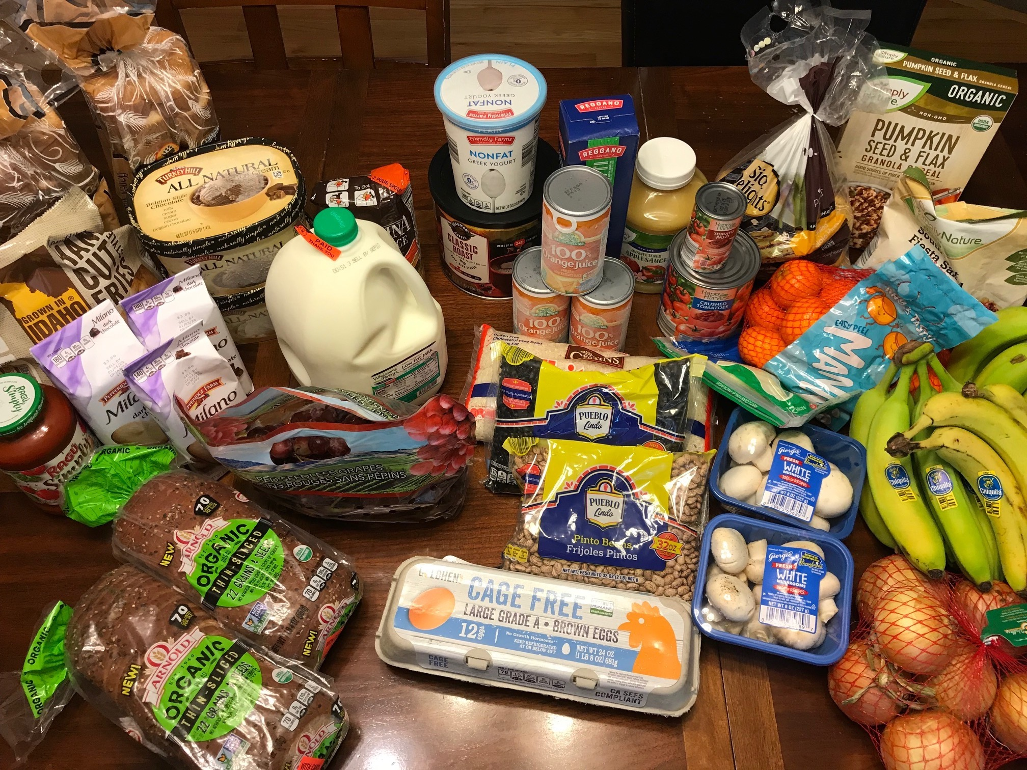 My Weekly Grocery Haul for September 1!