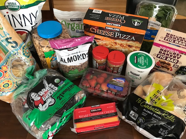 My Monthly Costco Grocery Haul